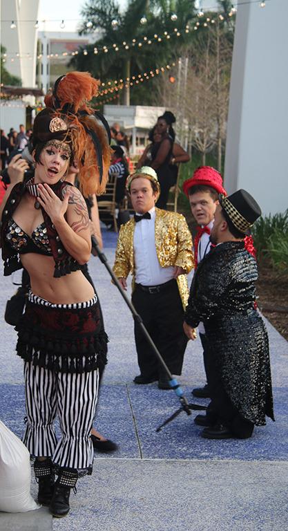Miami Heat's Chris Bosh 'Cirque Du Noir' 30th birthday