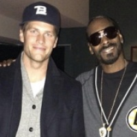 (PHOTO) Tom Brady Chillin' With Snoop Dogg