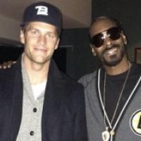 (PHOTO) Tom Brady Chillin' With Snoop Dogg