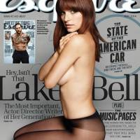 (PHOTOS) Morning Wood: Lake Bell Takes It Off For 'Esquire'